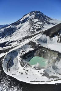 Volcán Tupungatito. Fotografía de Guy Wenborne.